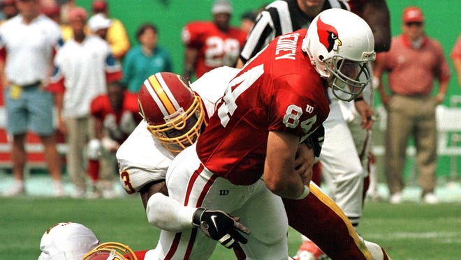 Chris Gedney, a standout at Liverpool High and Syracuse University, played in the NFL for parts of six seasons with the Arizona Cardinals and Chicago Bears. Gedney died March 9 at age 47.