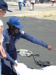 Air Force Academy Senior Cadet Oluwayemisi Orikogbo