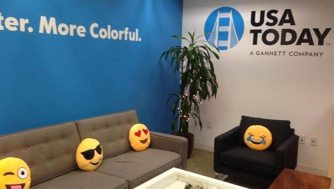 The USA TODAY San Francisco bureau loves emojis.