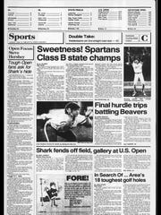 Battle Creek Sports History: Week of June 16, 1986