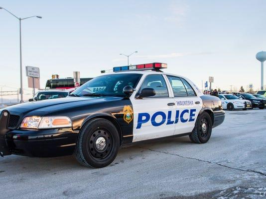 Waukesha police car