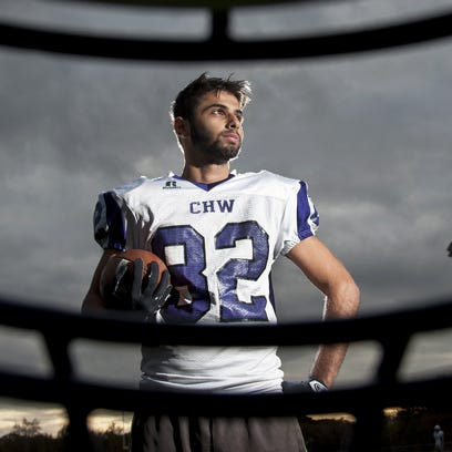 Cherry Hill West's Mazahra takes advantage of lone shot at football