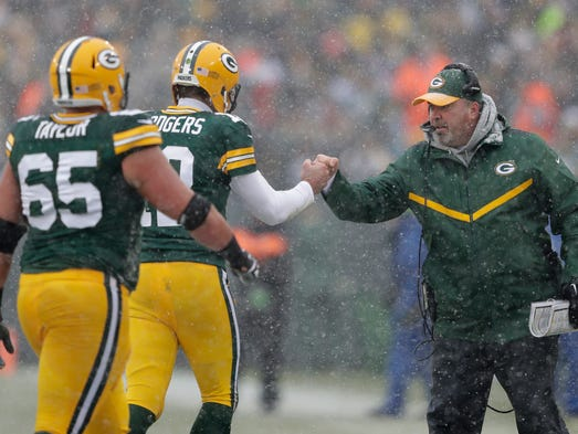 mcginn packers find new way to roll in snow