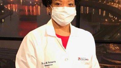 Columbus Public Health Commissioner Dr. Mysheika Roberts.