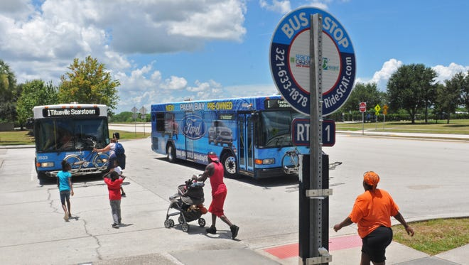 The proposed penny-a-gallon gas tax would have expanded Space Coast Area Transit bus service on Sundays and would have increased the frequency of weekday bus service.