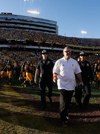 "From his Arizona State office, coach Todd Graham can hear the sounds of construction. ""And then the next for step for us is to fill this stadium and fill it every week,'' Graham said in May."