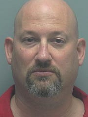 Mugshot of Mark Sievers, who is arrested on a charge