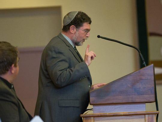 Rabbi Larry Karol, tells of his families immigrant