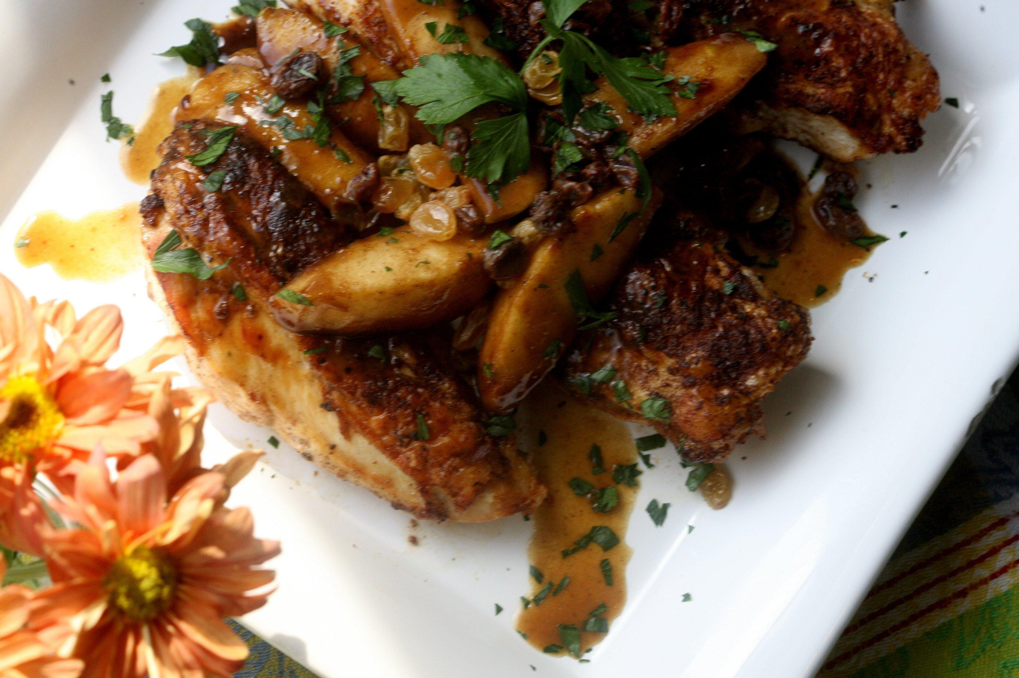 Chicken breast recipes with apple cider