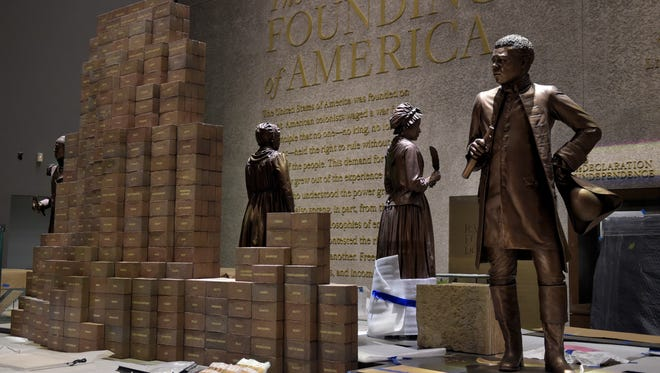Preparations are finalized for the opening of the National Museum of African American History and Culture in Washington.