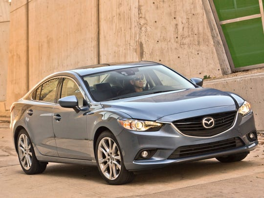 This photo provided by Mazda shows the 2014 Mazda 6,