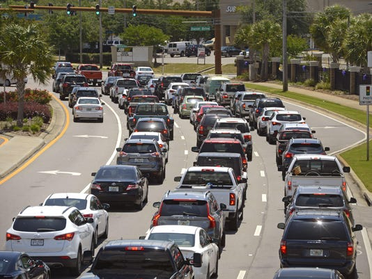Gulf Breeze Traffic 1
