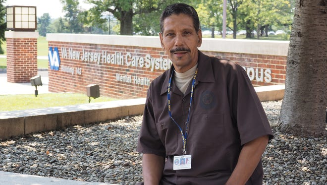 "Lawrence Prather, a U.S. Navy veteran faced homelessness until five years ago when he received assistance through the VA Health System. He said many of the state's homeless veterans are suffering from emotional problems such as Post Traumatic Stress Disorder (PTSD) and addiction issues, and they have been living on the street so long they are reluctant to trust what is offered through the VA system. He said, ""I talk to homeless veterans in Plainfield and Newark I wish I could go out across the state and talk to all of the veterans who are struggling to tell them that there is help available – there is a clean bed for you, there is a job for you.  I think they will listen to me because I've lived it."""