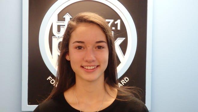 Rye girls lacrosse goalie Micheline DiNardo is this week's Con Edison Athlete of the Week