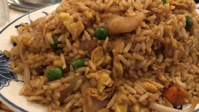 The shrimp fried rice at Su's Garden, Marco Island.