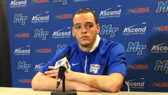 Reggie Upshaw after putting up 32 points and 12 rebounds on Wednesday.