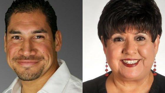 Gomez (left) and Rubio