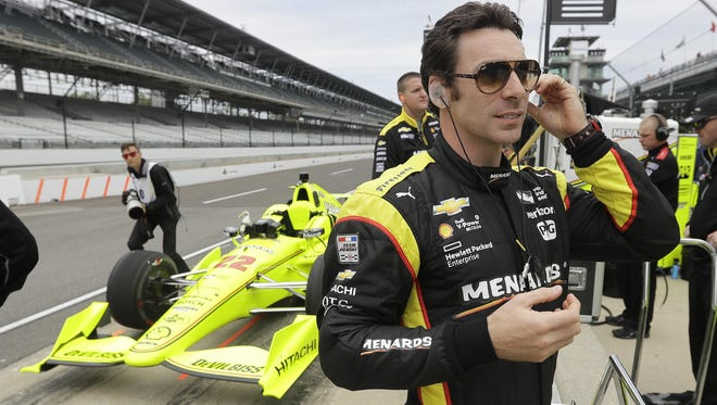 Team Penske driver Simon Pagenaud enters Sunday's Indianapolis 500 fresh off three straight IndyCar Series race victories.