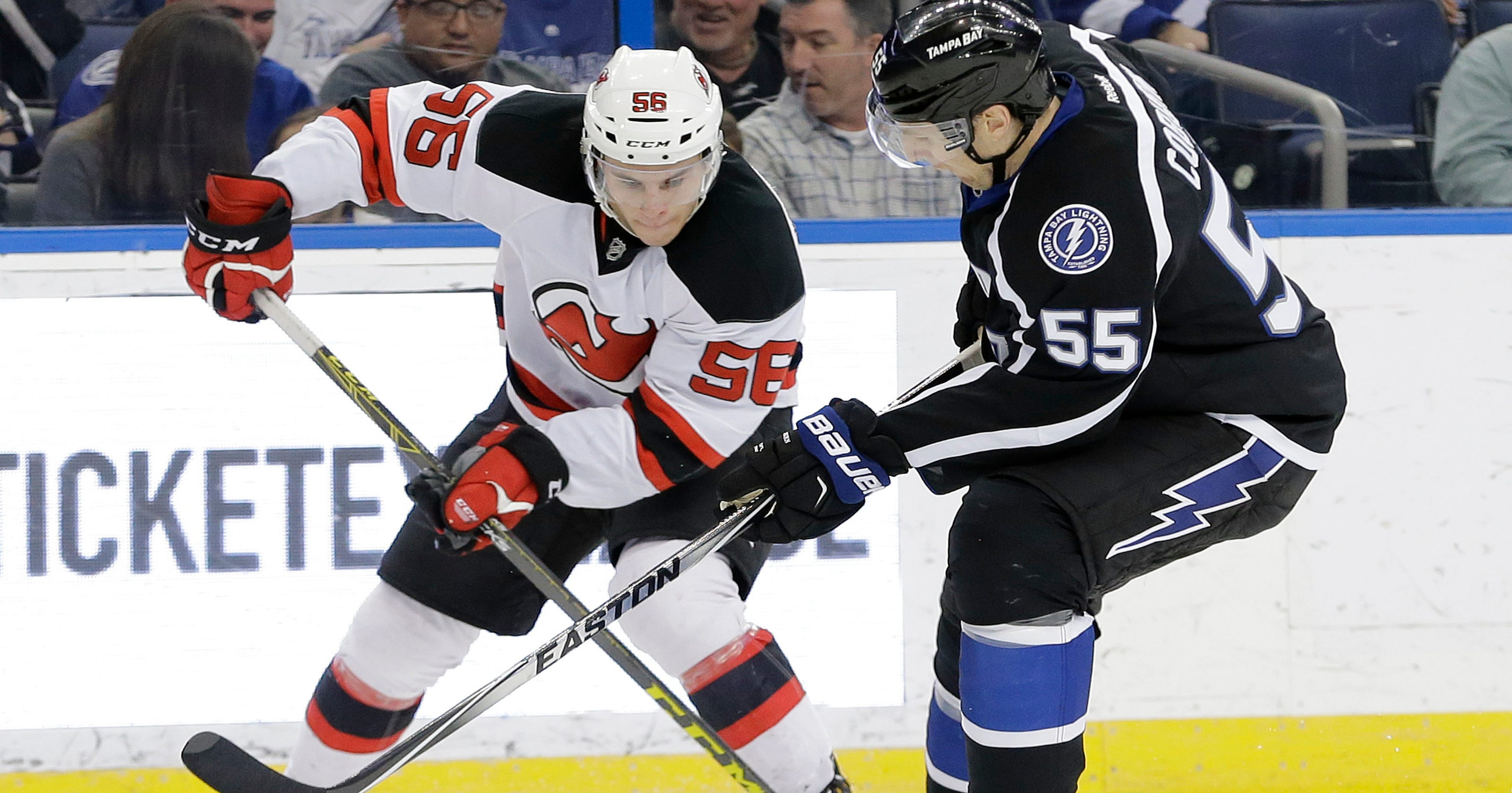 separation shoes ffb2a f2fba Why NJ Devils are giving Blake Pietila another shot