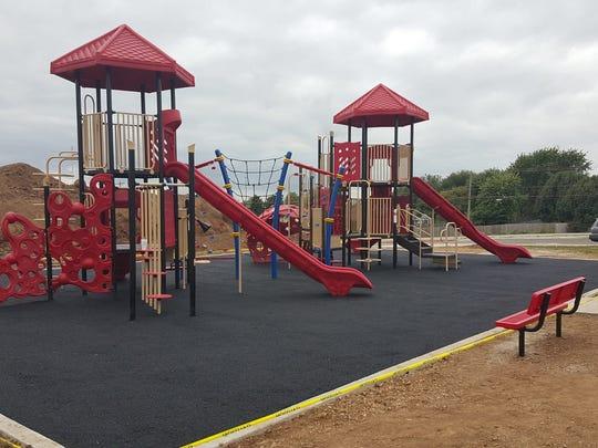 Parent volunteers saved the school $25,000 in installation