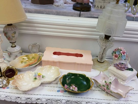 At the Paris Market Antique Mall in Fort Myers, there