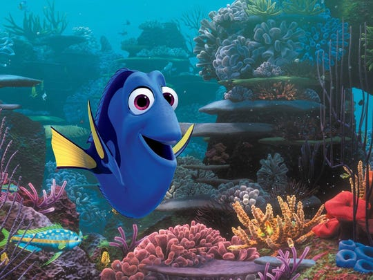 "Dory, the most memorable character in ""Finding Nemo,"" gets her own movie in ""Finding Dory."""