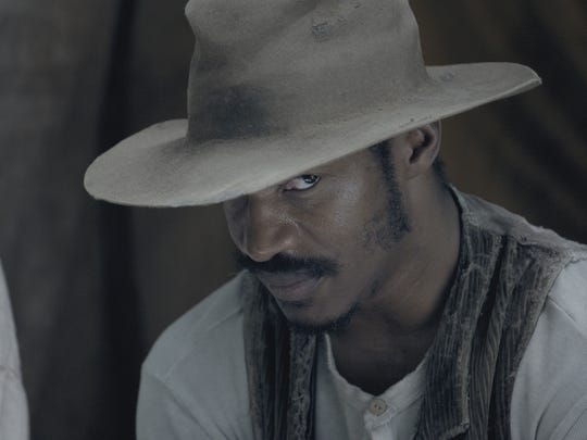 "Nate Parker as Nat Turner in ""The Birth of a Nation."""