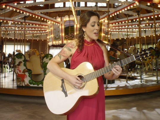 A still from Jane Kramer's music video for the song