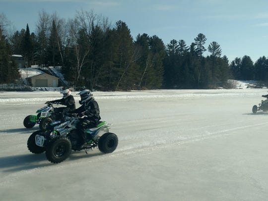 Saturday will be the kickoff to the new ice racing