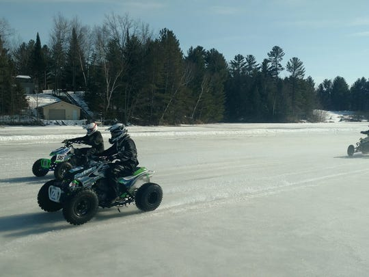 Saturday will be the kickoff to the new ice racing season in the WIRCS at Otter Lake race in Stanley.