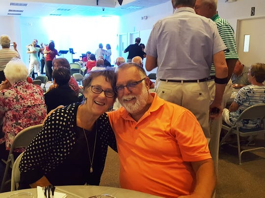Sweethearts Darla and Gary Goetzelman were among the 175 guests who were treated to a feast and a night of romance and love at the Annual Capri Christian Church's Sweetheart Banquet.