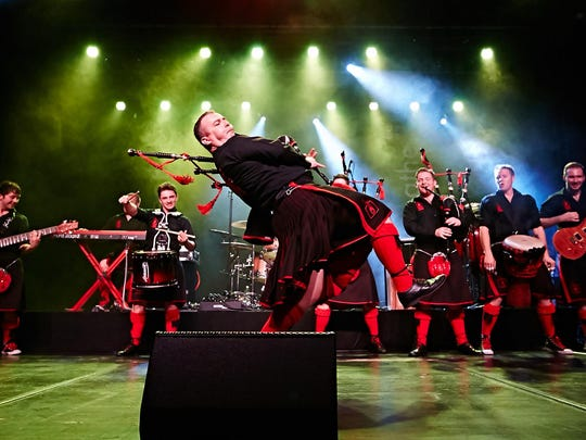 The Red Hot Chilli Pipers will perform on March 22 at The Grand.
