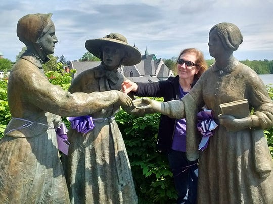 Jill Lawrence in Seneca Falls, N.Y.