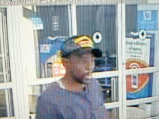 Memphis police released this image of a suspect in fire station burglary.
