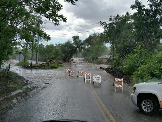 Evacuations in Mayer
