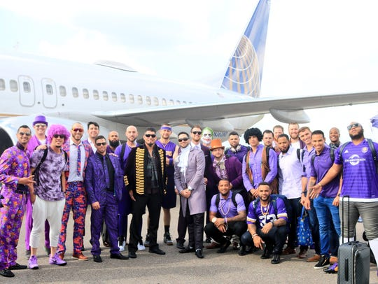 The Milwaukee Brewers wear purple on their trip to
