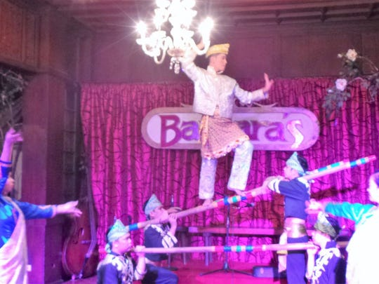 Barbara's Heritage Restaurant in the old Spanish walled city of Intramuros combines food, culture and performing arts.