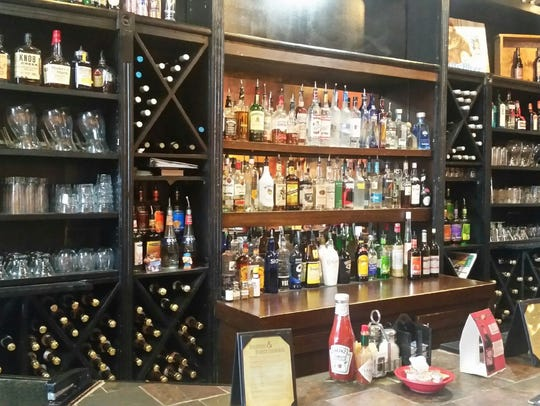 Though there are no beers on tap, Gailey's offers several