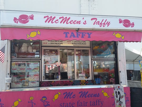 McMeen's Taffy has been coming to Marshfield for 70