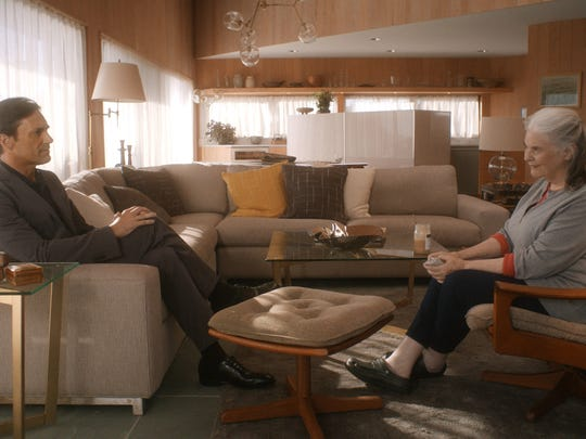 "A computer-programmed version of her late husband, Walter (Jon Hamm), keeps an ailing Marjorie company in ""Marjorie Prime."""