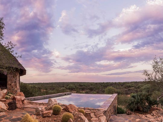 View from the porch at Stanley Pieterse Safaris