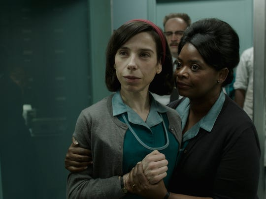 """Sally Hawkins (left) and Octavia Spencer star in """"The Shape of Water."""""""
