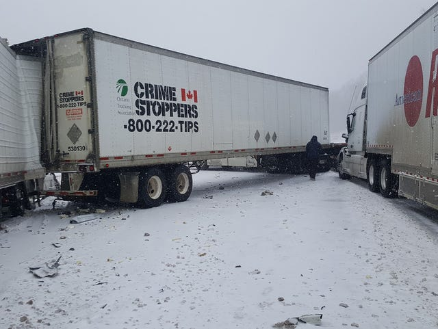 Icy roads strands drivers as TDOT does what it can to combat conditions