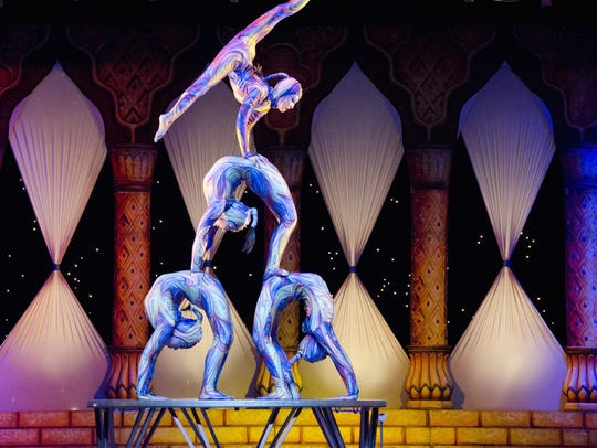 The Barak Shrine Circus is coming to Monroe for three days.