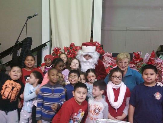 Paul O'Donoghue shown during an appearance as Santa
