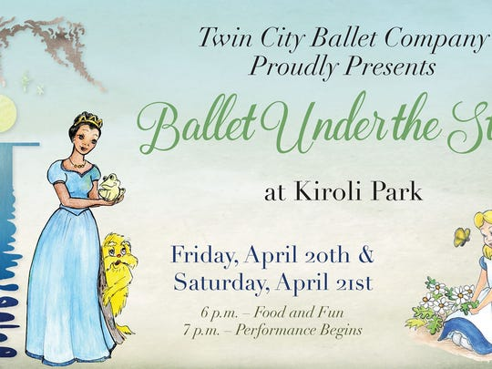 Ballet Under the Stars is Friday and Saturday.
