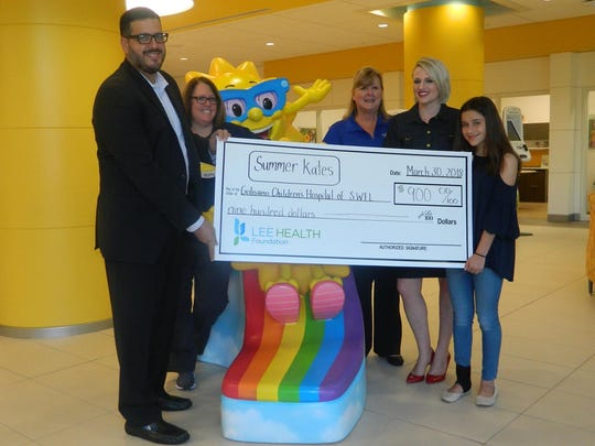 """Summer's bake sale last year made 900 dollars, a donationthat was latermatched by a """"generous local company,"""" Kates said."""