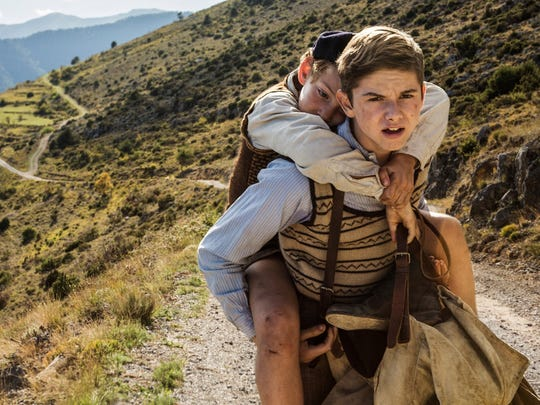 Two school-age brothers try to escape The Holocaust