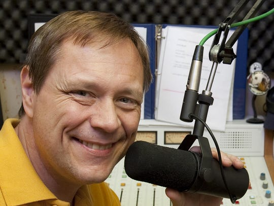 Local radio personality Steve Keller opens and closes