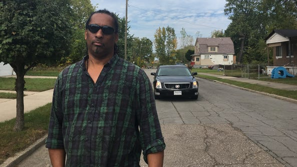 Michael Williams, 61, of Detroit said he was trying